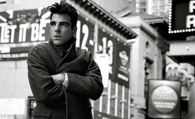 Zachary Quinto New York