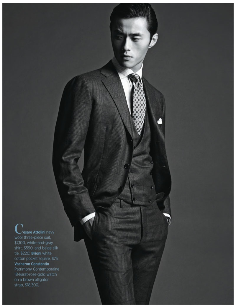 Zhao Lei Goes Sartorial for Robb Report | Page 2 | The