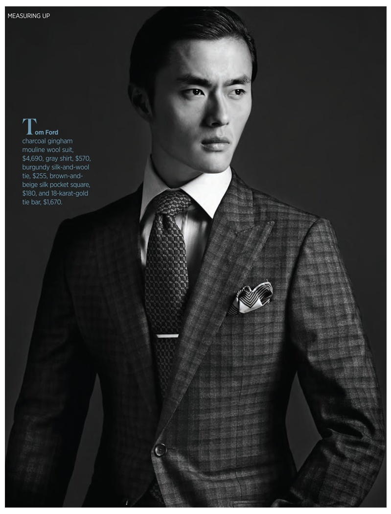 Zhao Lei Goes Sartorial for Robb Report | The Fashionisto