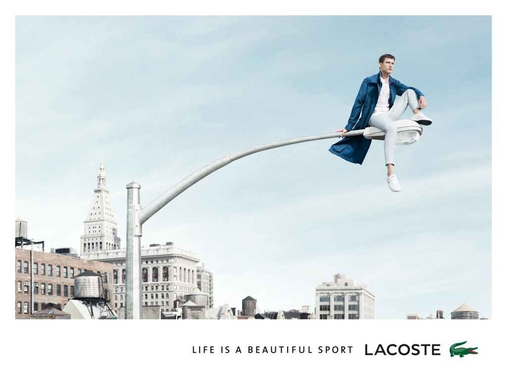 Another Photo from Lacoste Spring/Summer 2014 Campaign Starring Roch Barbot