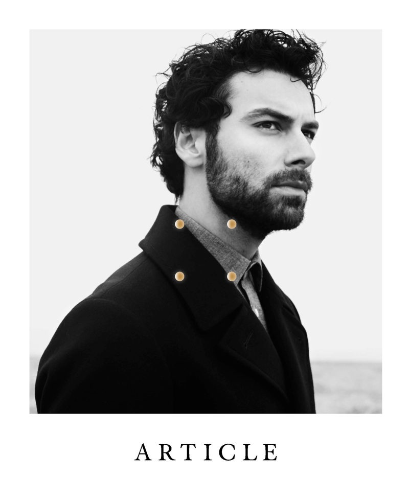 Aidan Turner Covers the Sophomore Issue of Article Magazine