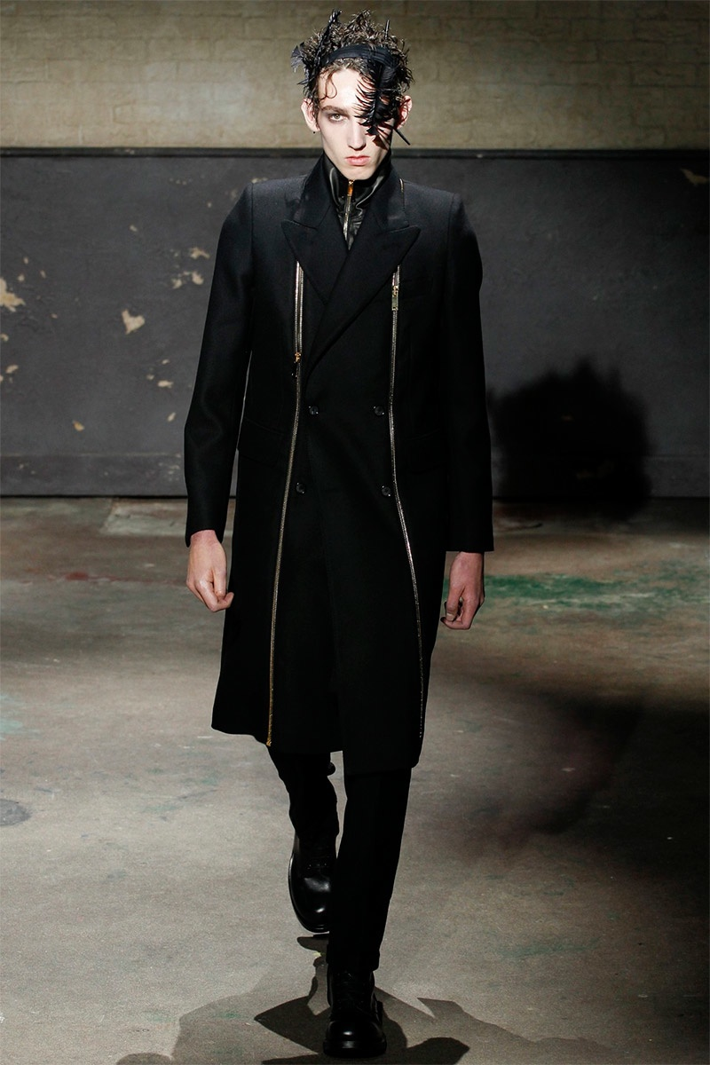 alexander mcqueen fallwinter 2014 london collections men