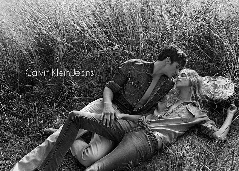 Calvin Klein Jeans Spring/Summer 2014 Campaign Featuring Matthew Terry