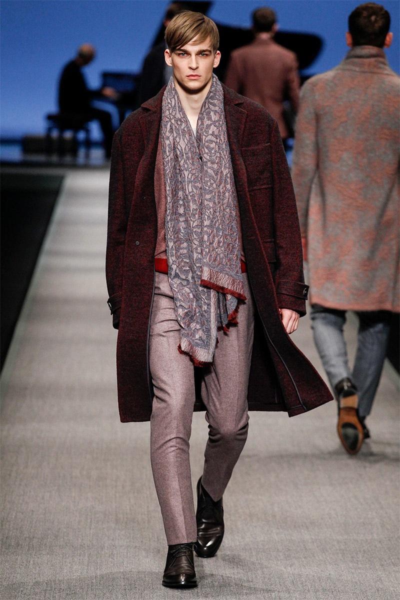 Canali Fall Winter 2014 Milan Fashion Week