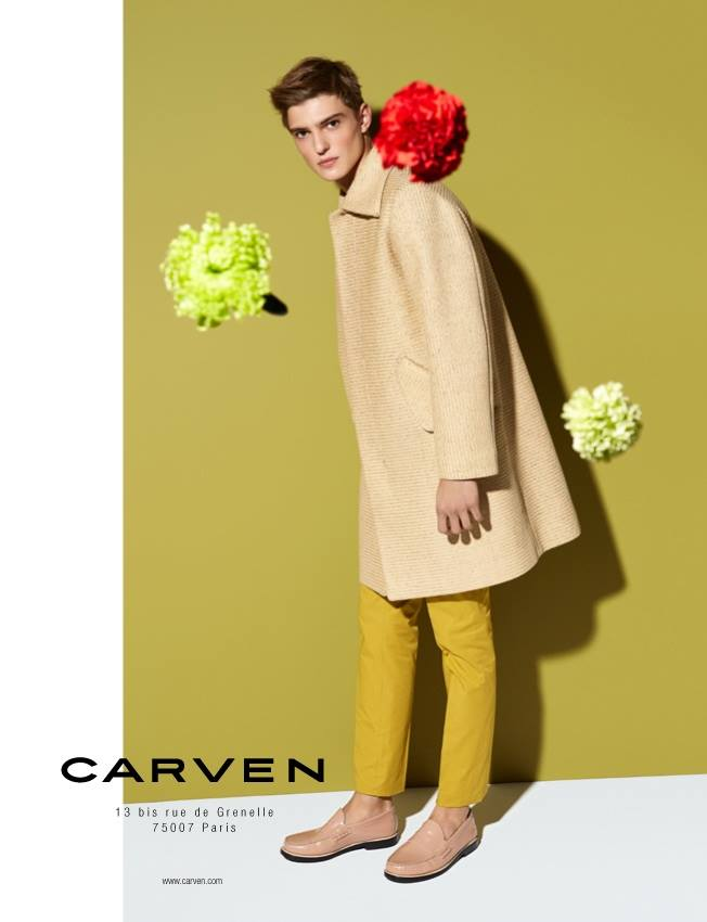First Look | Guerrino Santulliana for Carven Spring/Summer 2014 Campaign