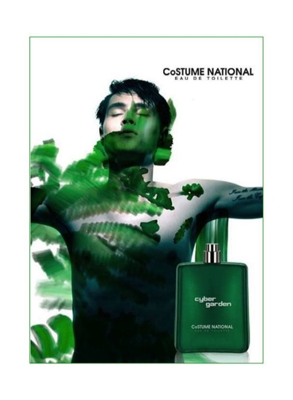 Costume National 'Cyber Garden' Fragrance Campaign
