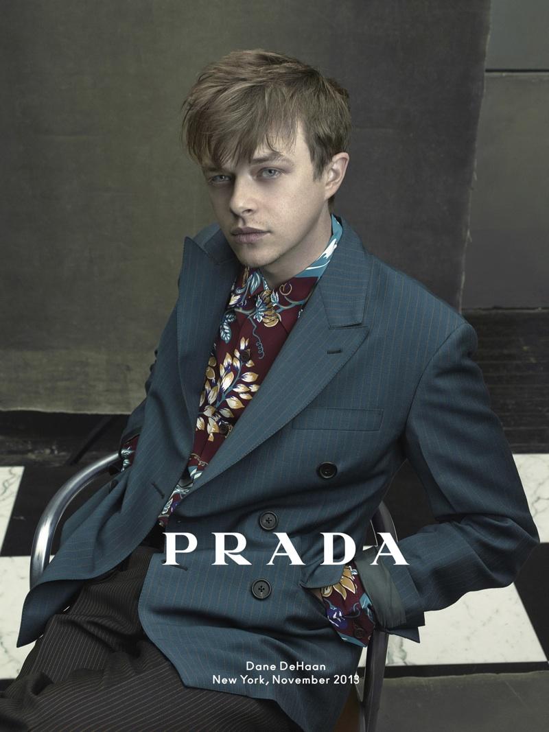 Dane DeHaan Prada Campaign Photo
