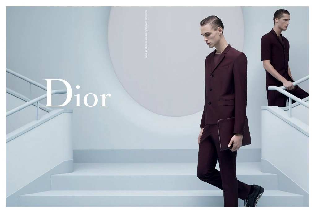 Another Photo of Edward Wilding & Victor Norlander for Dior Homme Spring/Summer 2014 Campaign