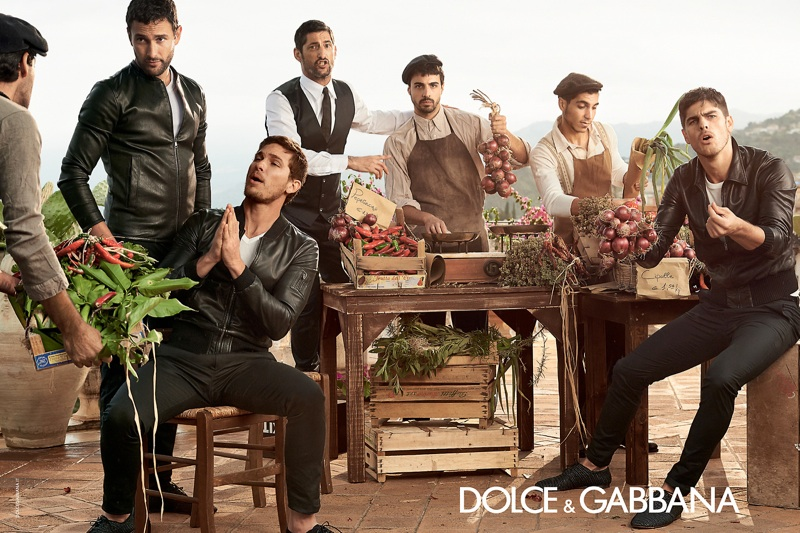 More Photos from Dolce   Gabbana Men s Spring Summer 2014 Ad Campaign fb81c3244b370