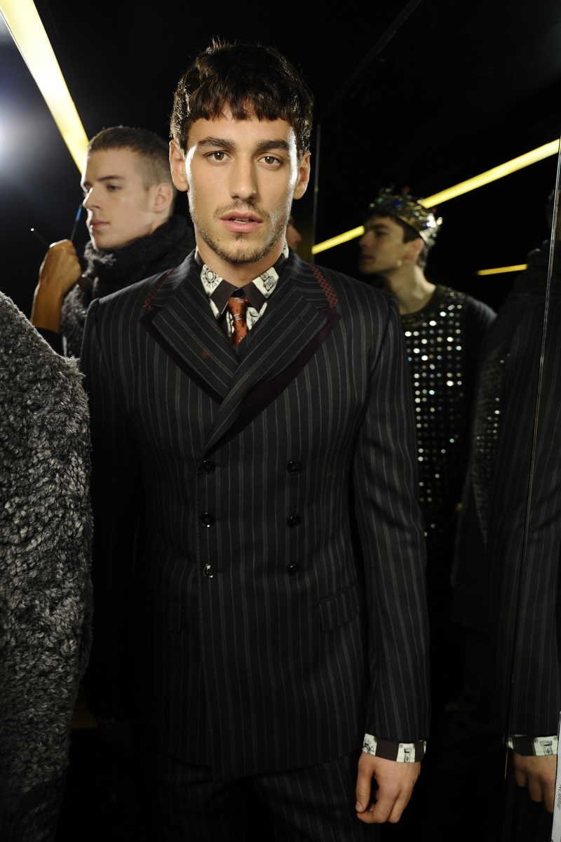 Dolce & Gabbana Fall/Winter 2014 Behind the Scenes