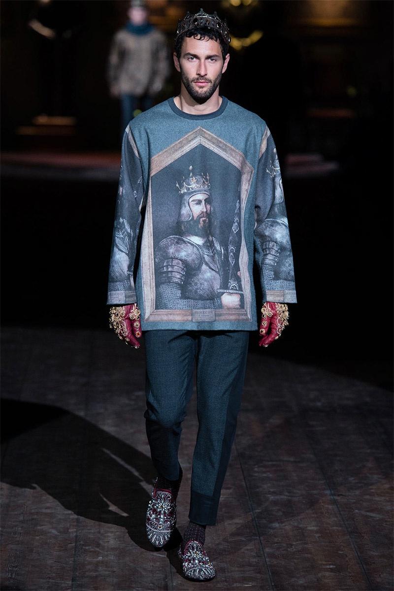 Dolce & Gabbana Men Fall/Winter 2014 | Milan Fashion Week