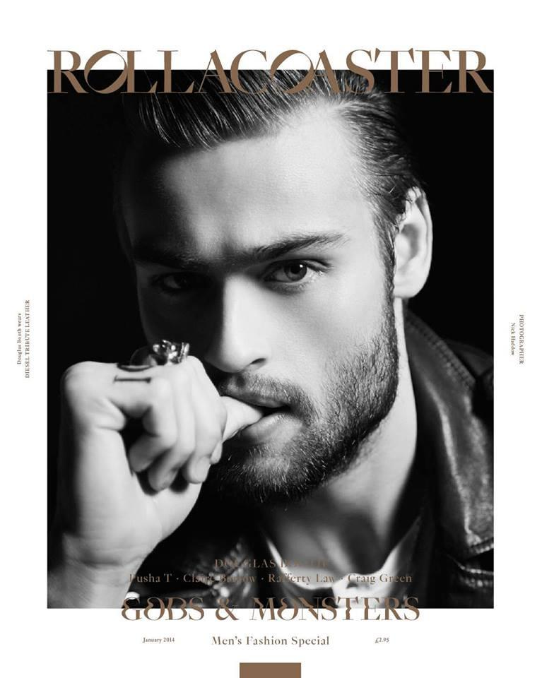 Douglas Booth Covers Rollacoaster