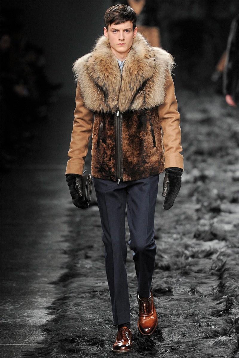 Fendi Men Fall/Winter 2014 | Milan Fashion Week