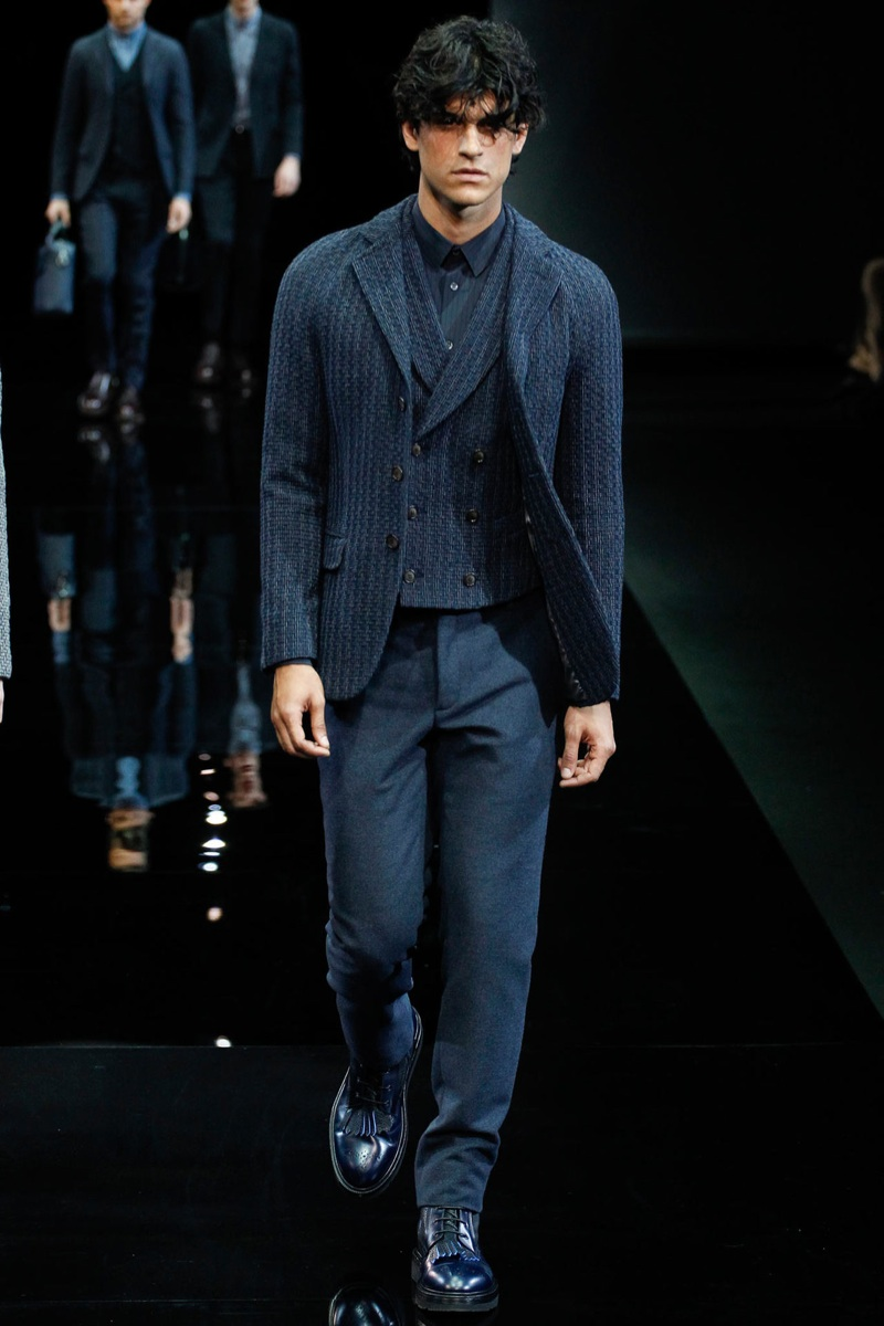 Giorgio Armani Fall/Winter 2014 | Milan Fashion Week image