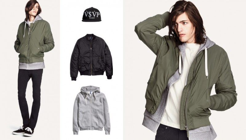 Marcel Castenmiller Models New Looks from H&M Divided