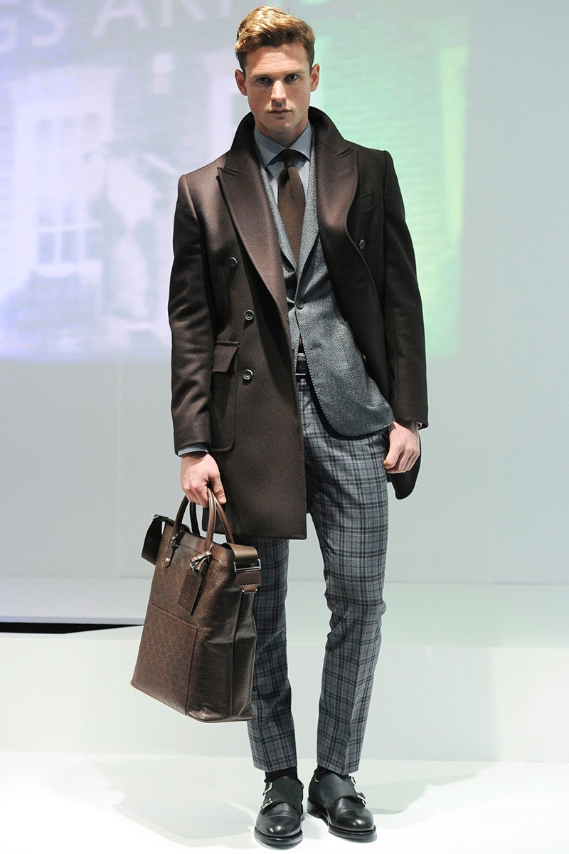 Hardy Amies Fall/Winter 2014   London Collections: Men