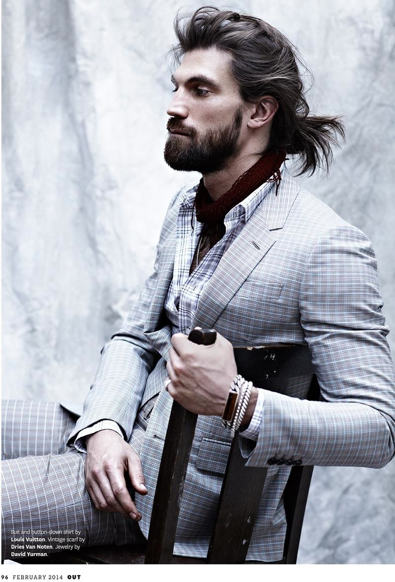 Man Bun Trend The Male Updo From Jared Leto To Leonardo