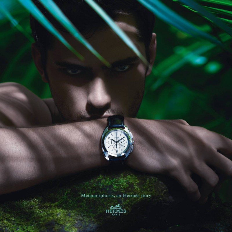 Sean O'Pry Fronts Hermès Spring/Summer 2014 Watches Campaign