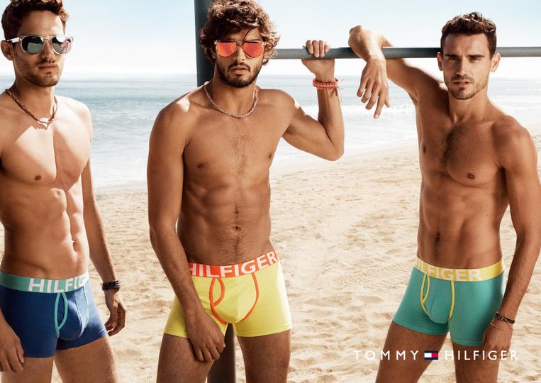 Arthur Kulkov, Marlon Teixeira & Max Rogers Star in Tommy Hilfiger Spring/Summer 2014 Underwear Campaign