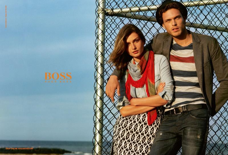 Boss Orange by Hugo Boss Spring/Summer 2014 Campaign Photos with Mihaly Martins