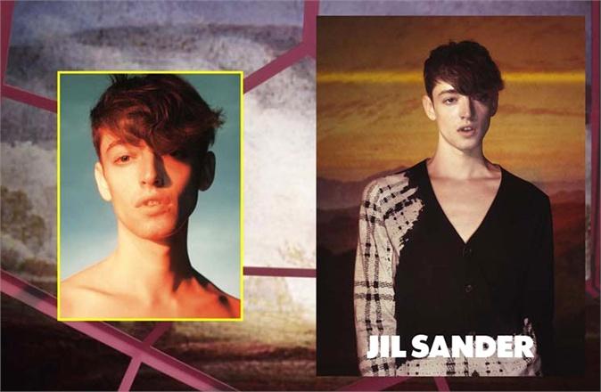 First Look | Jil Sander Spring/Summer 2014 Men's Campaign Starring Ben Waters