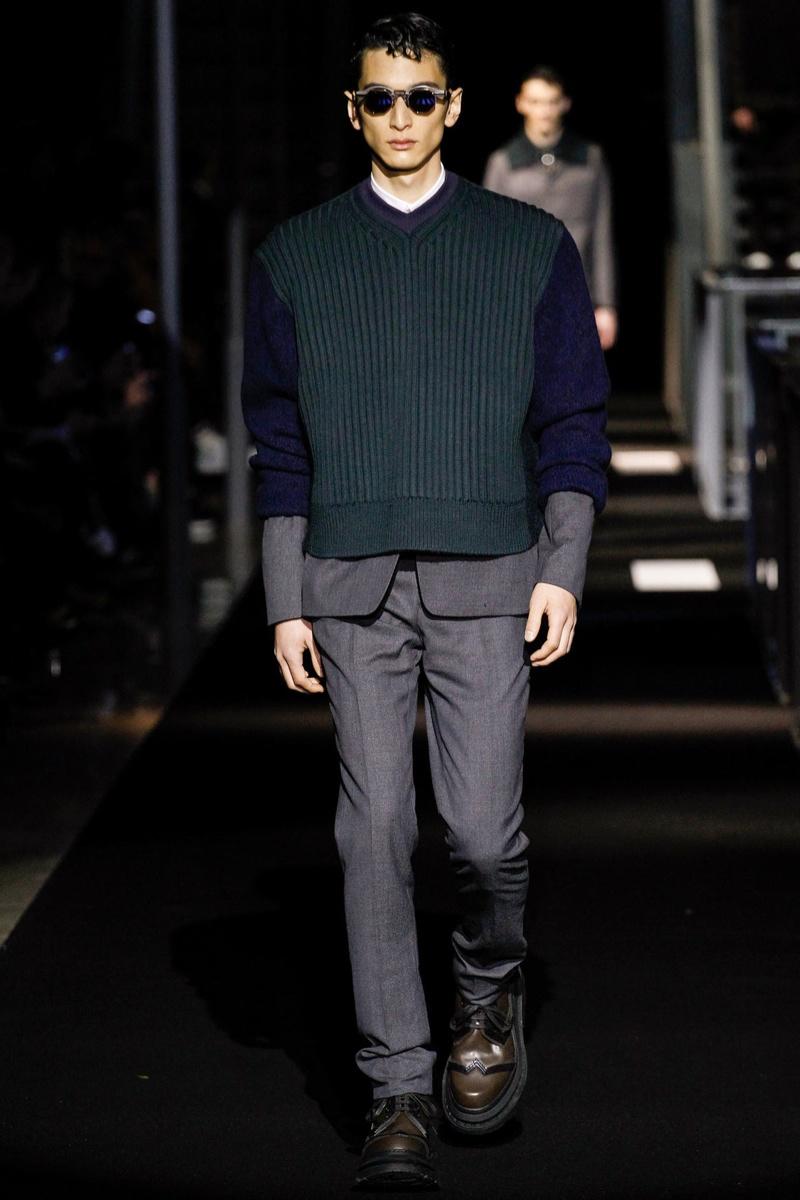 Kenzo Men Fall/Winter 2014   Paris Fashion Week image