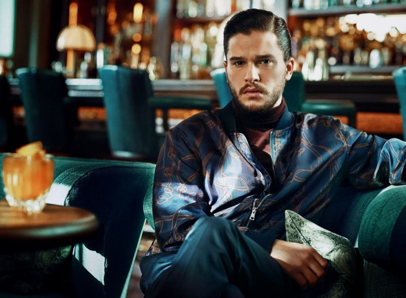 Kit Harington Cleans up for Esquire UK
