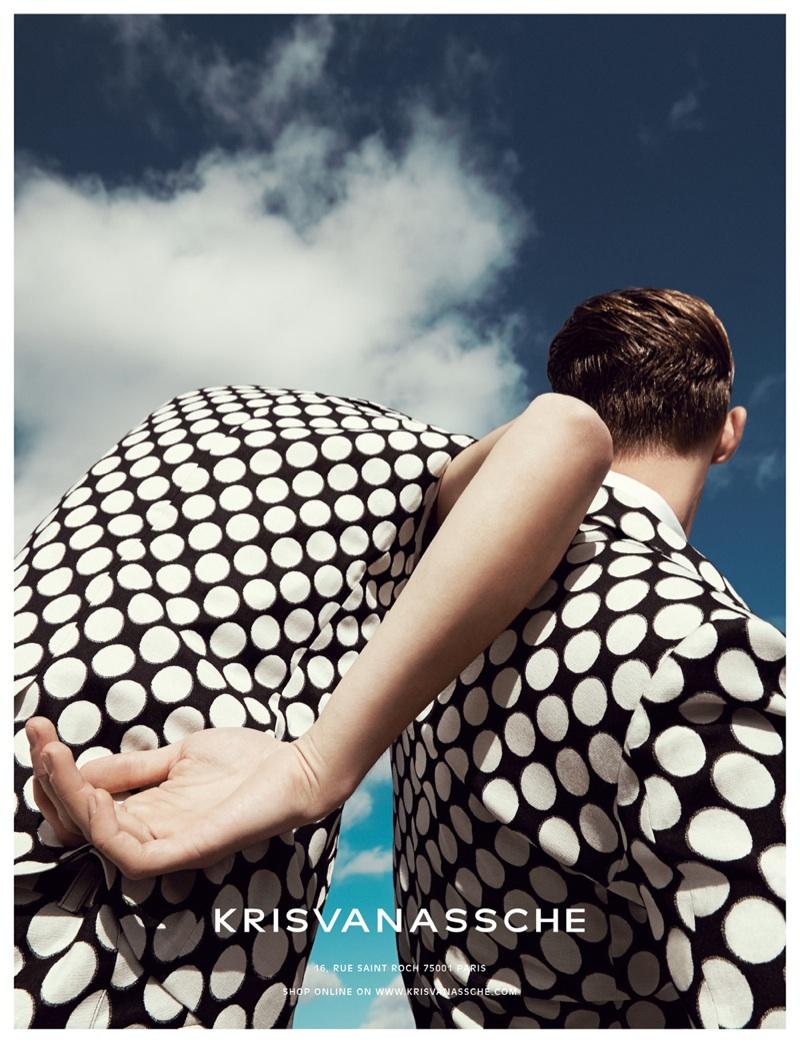 KRISVANASSCHE Spring/Summer 2014 Campaign Photos