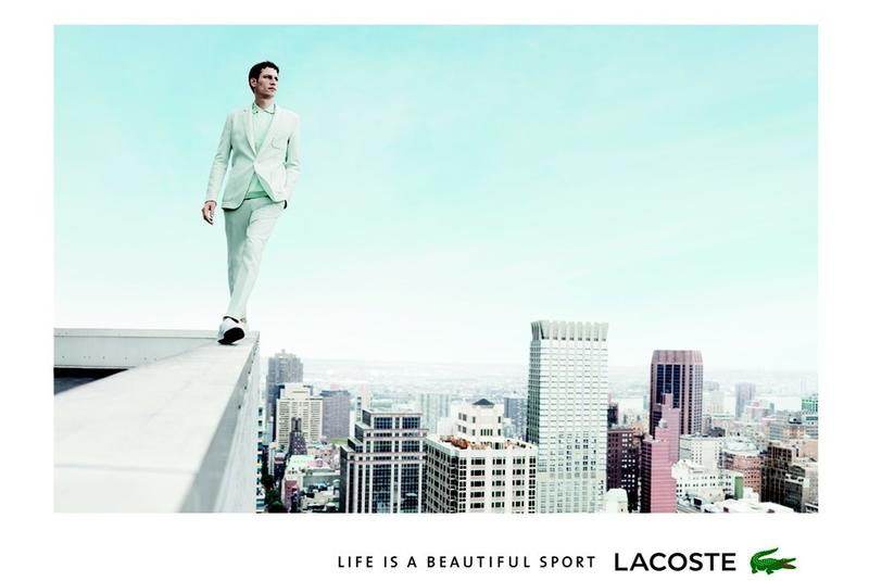 First Look | Roch Barbot for Lacoste Spring/Summer 2014 Campaign