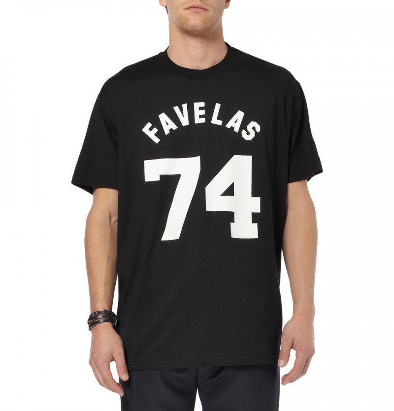 GIVENCHY FAVELAS 74 COTTON-JERSEY T-SHIRT