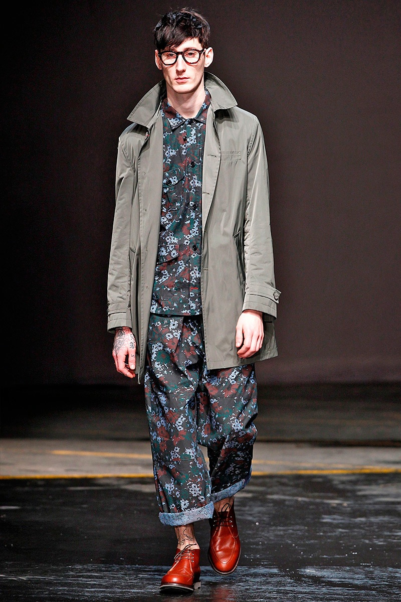 Oliver Spencer Fall/Winter 2014 | London Collections: Men