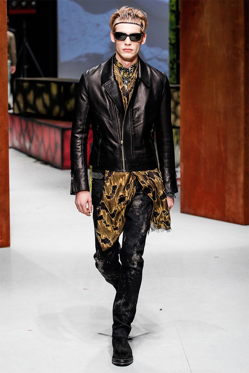 Roberto Cavalli Men Fall/Winter 2014