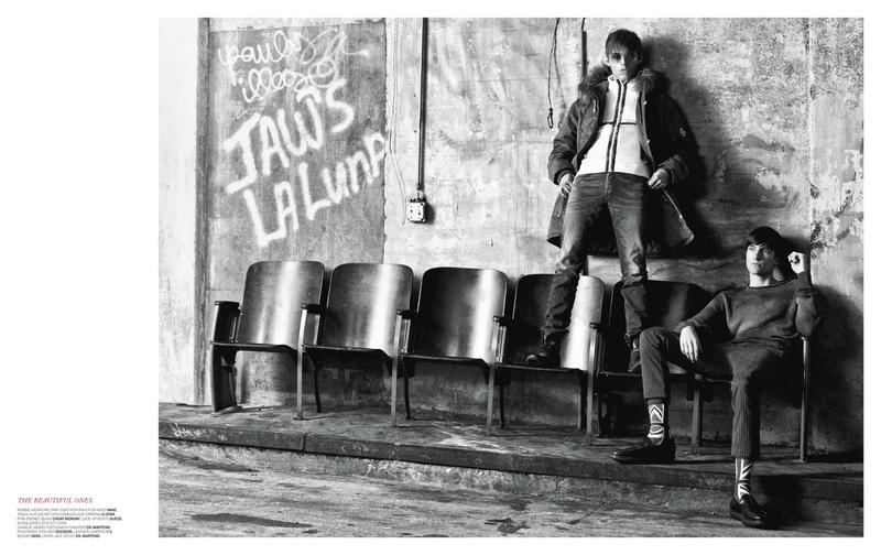 Robbie Wadge & Charlie Timms Rock Out for Sportswear International