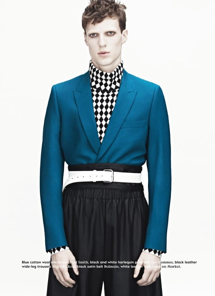 Tommaso de Benedictis Dons Voluminous Fashions for Bon Magazine