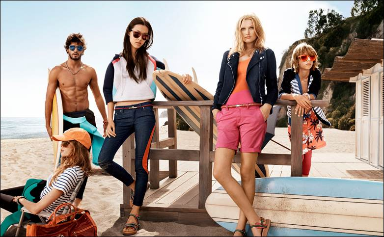 Tommy Hilfiger Spring/Summer 2014 Campaign Photos
