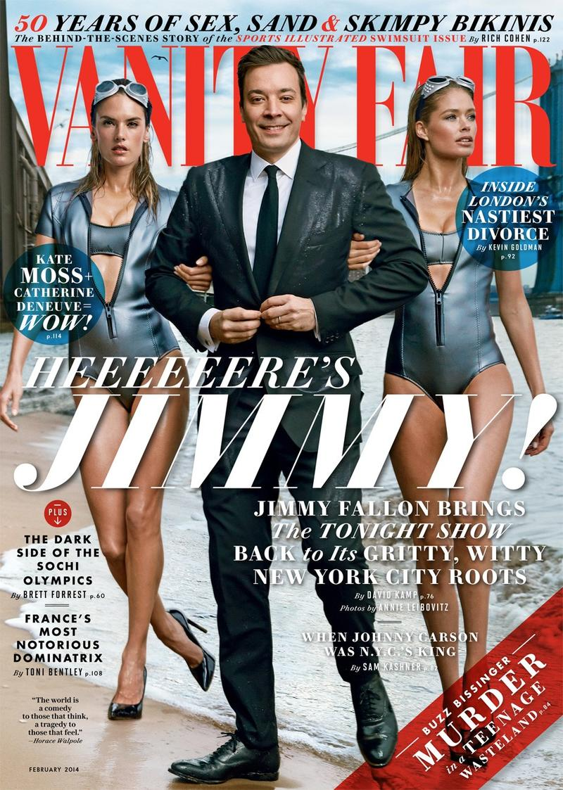 Jimmy Fallon Covers the February Issue of Vanity Fair