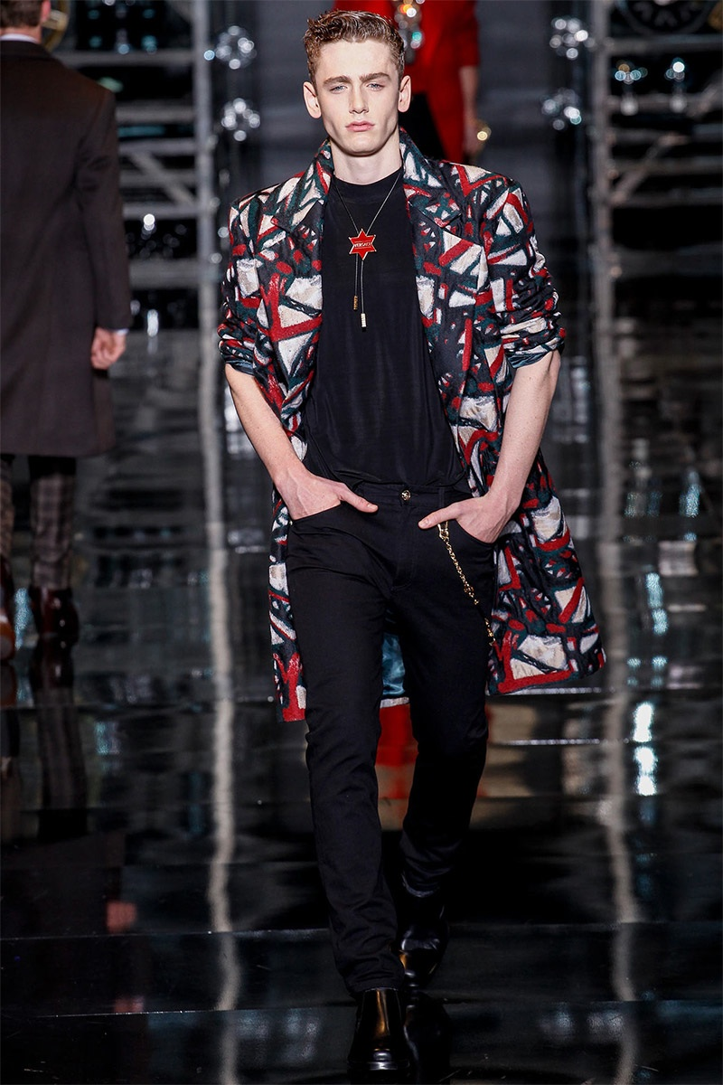 Versace Men Fall/Winter 2014 | Milan Fashion Week