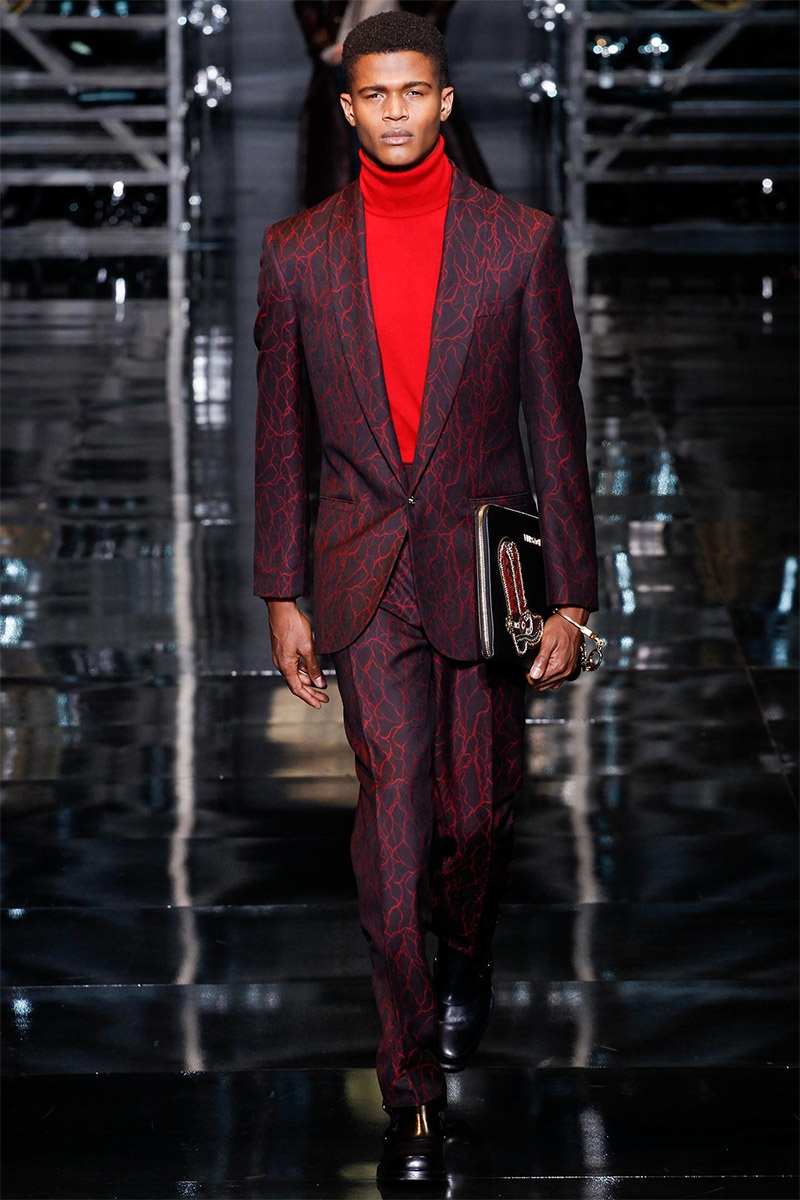 Versace Men Fall/Winter 2014 | Milan Fashion Week