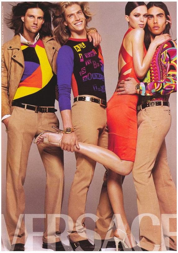 Versace Fall/Winter 2004 Campaign