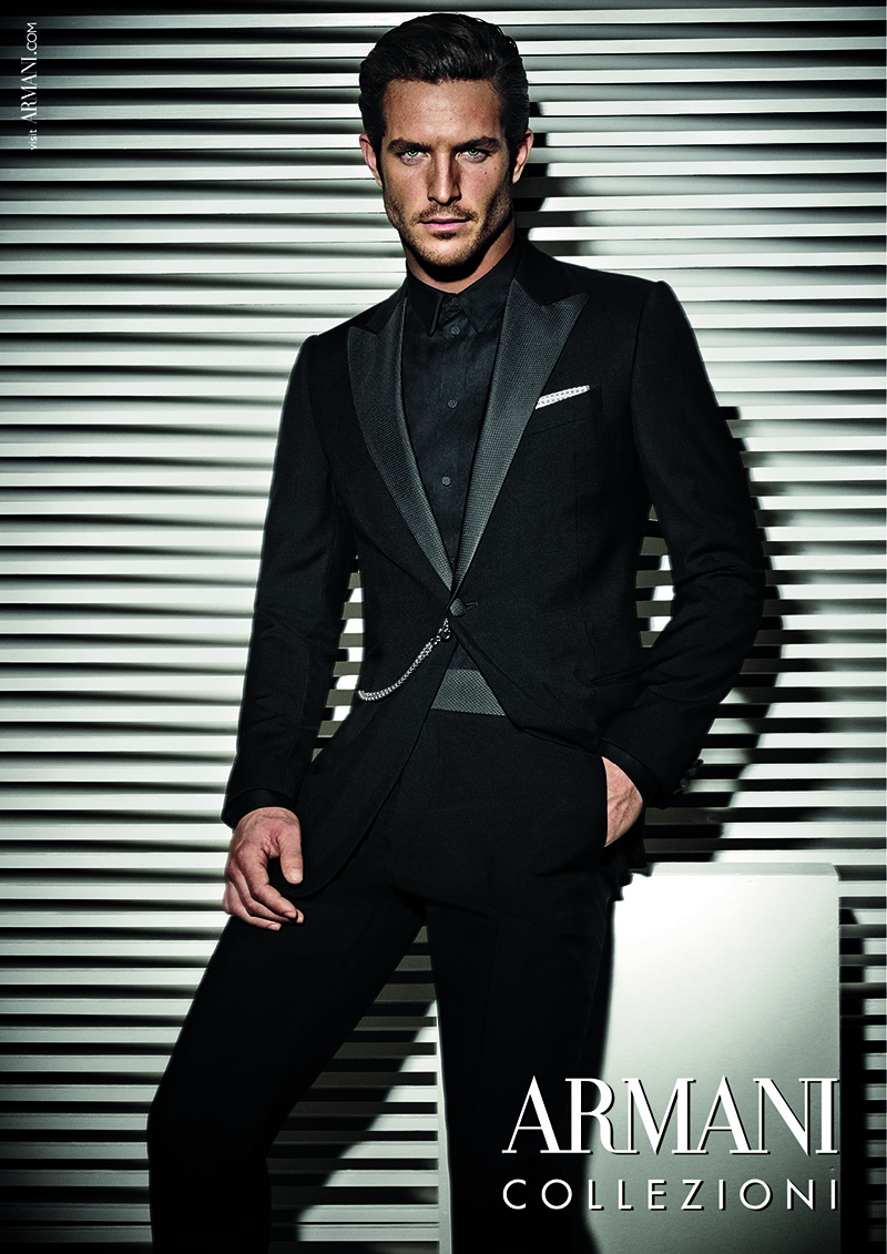 Additional Photos of Justice Joslin for Armani Collezioni Spring/Summer 2014 Campaign