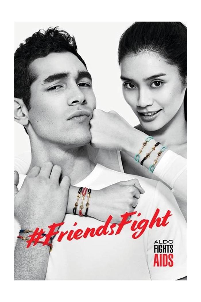 Eric Ramos + Waris Ahluwalia for ALDO #FriendsFight Campaign