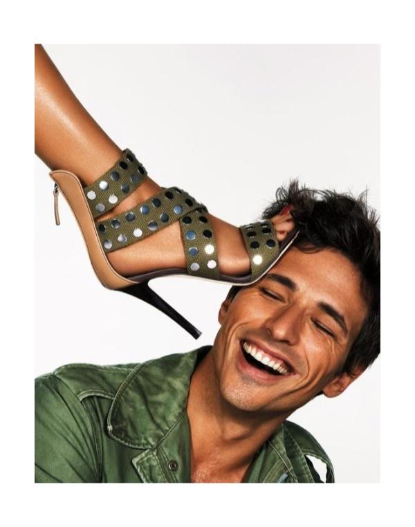 TBT | Andres Velencoso Segura for Giuseppe Zanotti Campaign