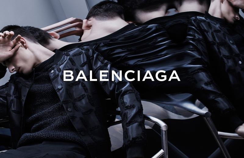 Balenciaga Men Spring/Summer 2014 Campaign Photos