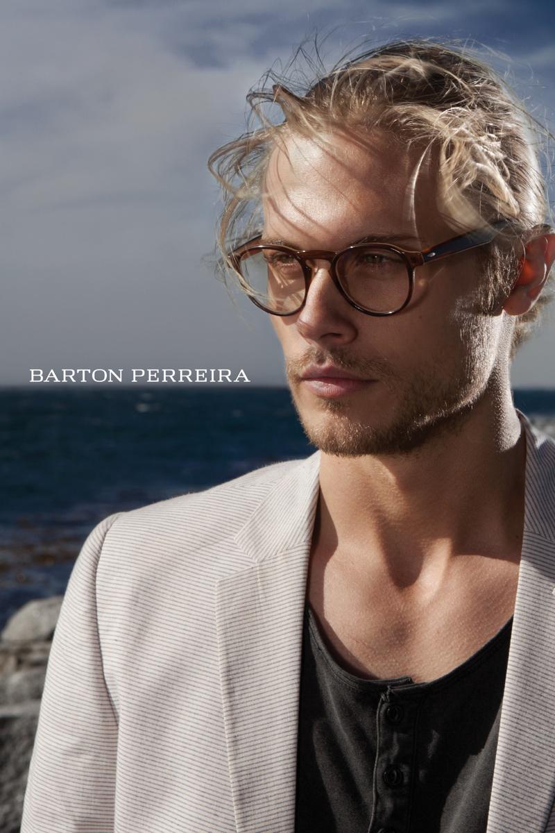 Christopher Mason Fronts Barton Perreira Spring/Summer 2014 Campaign