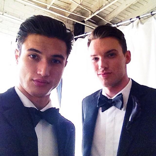 Charles Melton + Brandon Tobiassen