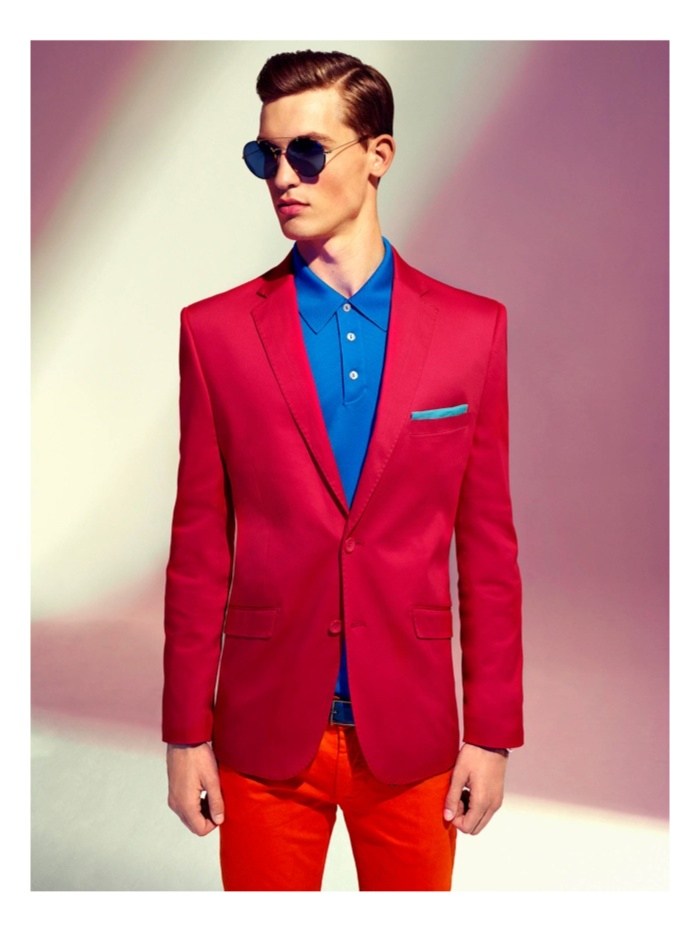 Jason Anthony, Marcel Glaser & Max Frombling Wear Colorful Spring Fashions for GQ South Africa
