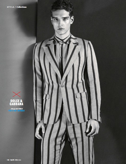 Alexandre Cunha Dons Spring Designs for GQ Germany