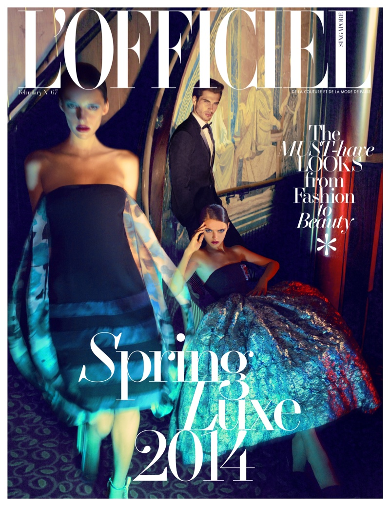 Ryan Keating, Morris Pendlebury, Adam Butcher + More for L'Officiel Singapore Spring Collections Story