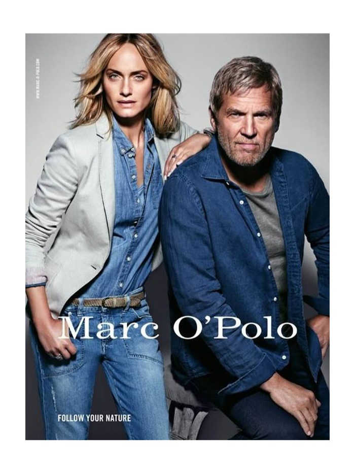 Jeff Bridges for Marc O'Polo Spring/Summer 2014 Campaign