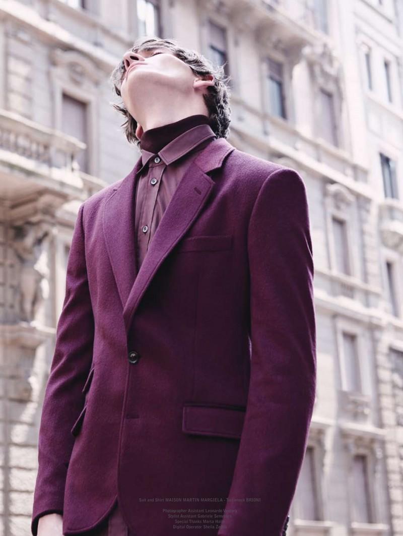 Matvey Lykov Wears Winter Styles for The Greatest